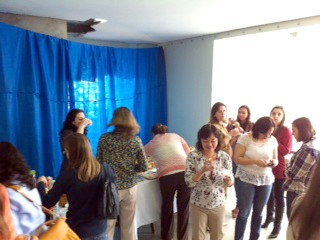 Encontro com mães no Congresso Paulista de Pediatria