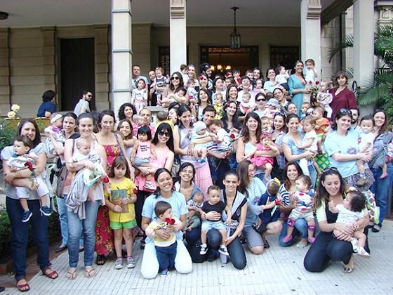 Hora do Mamaço 2013: perto das mães