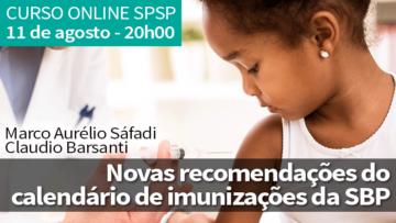 Curso On-Line – Novas Recomendações do Calendário de Imunizações da Sociedade Brasileira de Pediatria: O que o Pediatra precisa saber?