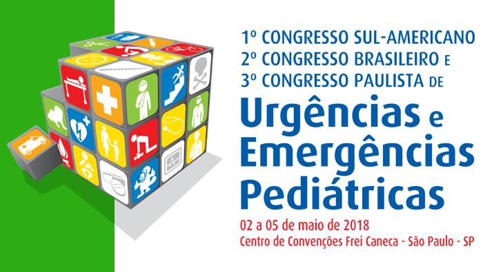3° Congresso Paulista, 2° Congresso Brasileiro e 1° Congresso Sul-Americano de Urgências e Emergências Pediátricas
