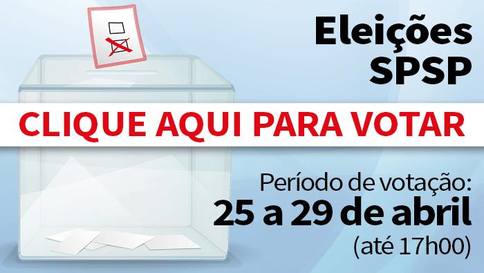 Eleições SPSP 2016: Orientações para votação