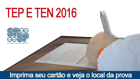 TEP e TEN 2016 – Veja o local de prova