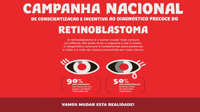 Campanha Nacional de Conscientização e Incentivo ao Diagnóstico Precoce do Retinoblastoma