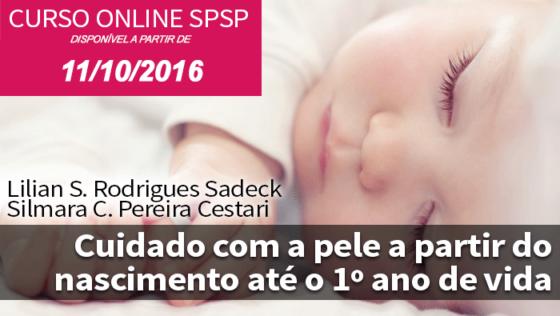 Cuidado com a pele a partir do nascimento até 1° ano de vida