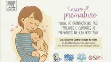 Livro digital para pais de bebês prematuros