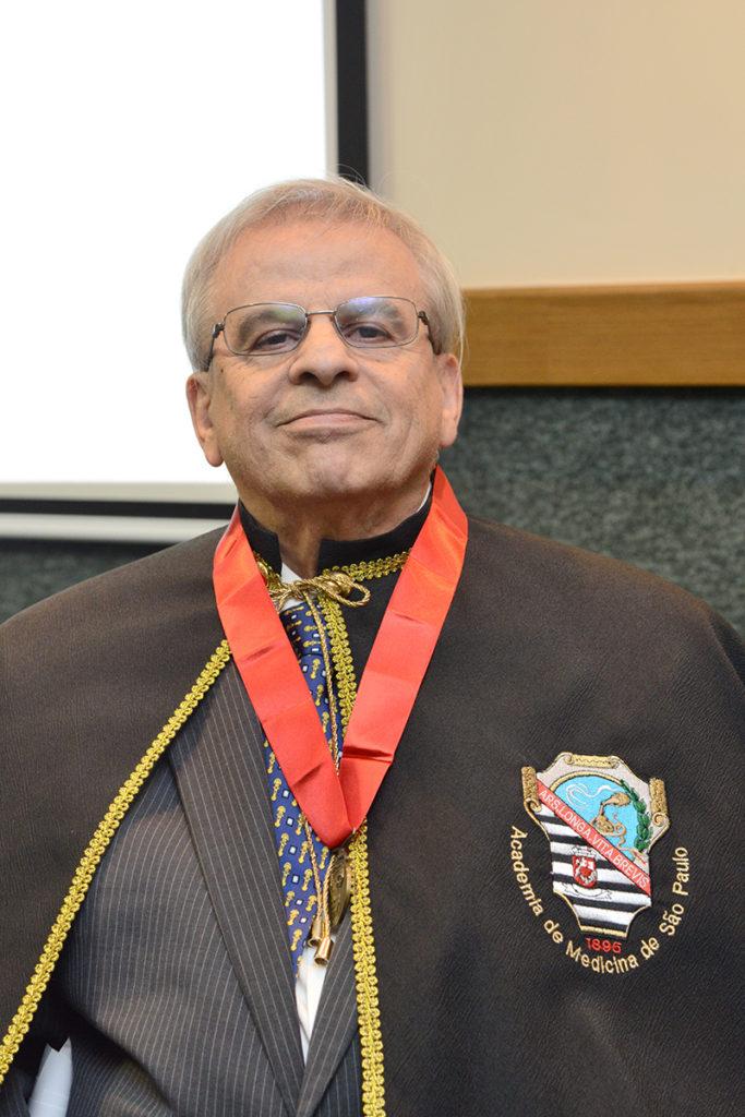 José Hugo de Lins Pessoa, o mais novo Membro Titular da Academia de Medicina de São Paulo.
