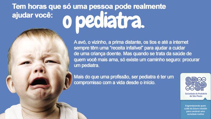 SPSP lança Campanha de Valorização da Pediatria e do Pediatra