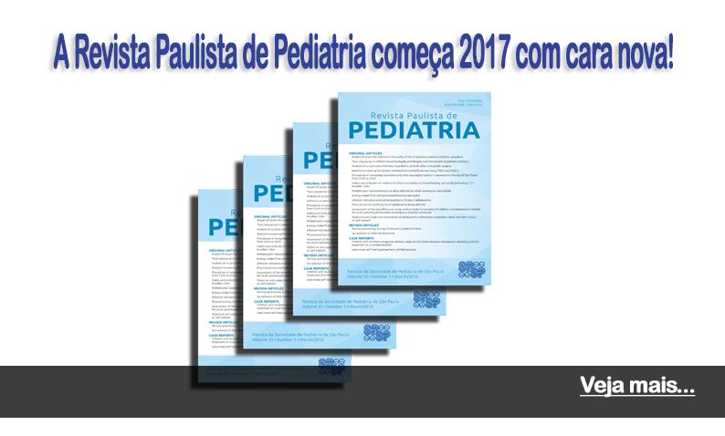 A Revista Paulista de Pediatria começa 2017 com cara nova!