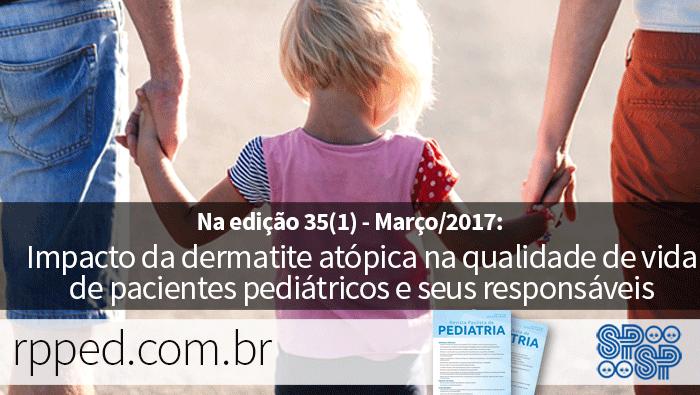 Impacto da dermatite atópica na qualidade de vida de pacientes pediátricos e seus responsáveis