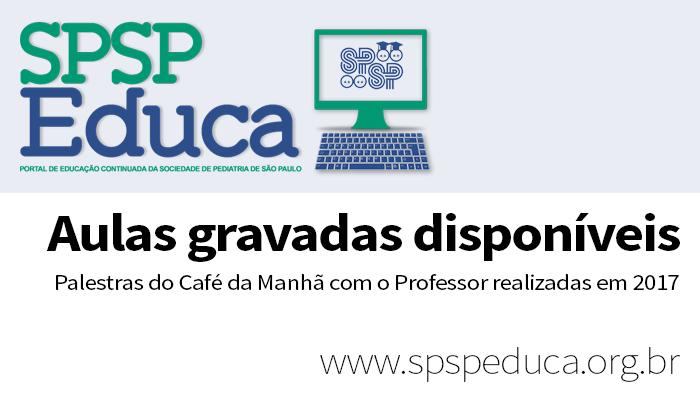 Aulas de 2017 do Café da Manhã com o Professor disponíveis para acesso