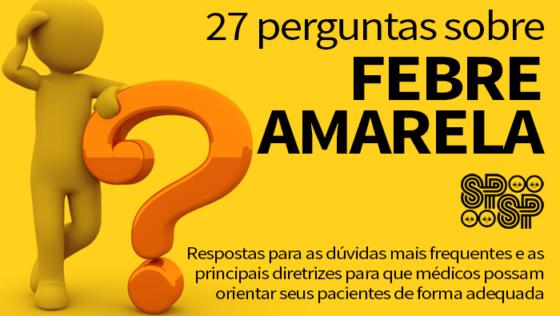 Perguntas frequentes sobre a Febre Amarela