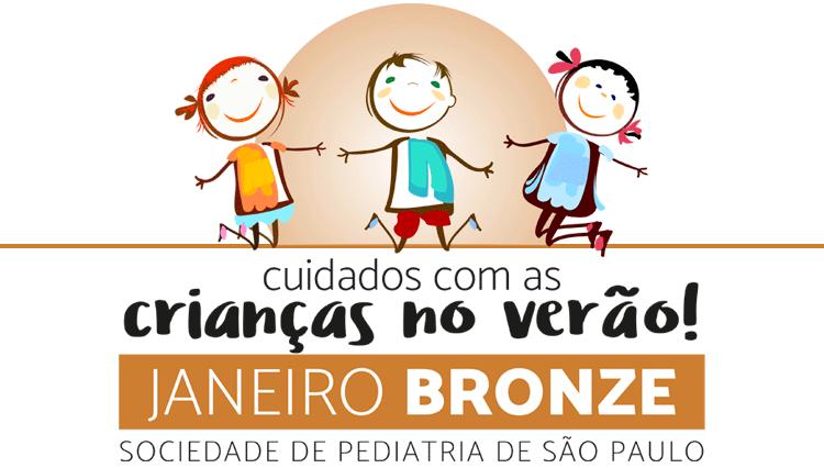 Janeiro Bronze – Cuidados com as crianças no verão