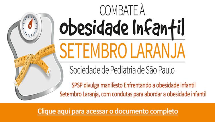 Manifesto – Enfrentando a obesidade infantil – Setembro Laranja