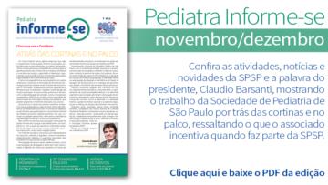 Boletim Pediatra Informe-se: edição novembro/dezembro nº 202