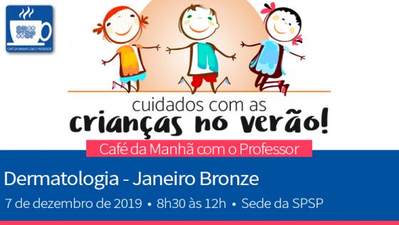 Café da Manhã com o Professor – Dermatologia – Janeiro Bronze