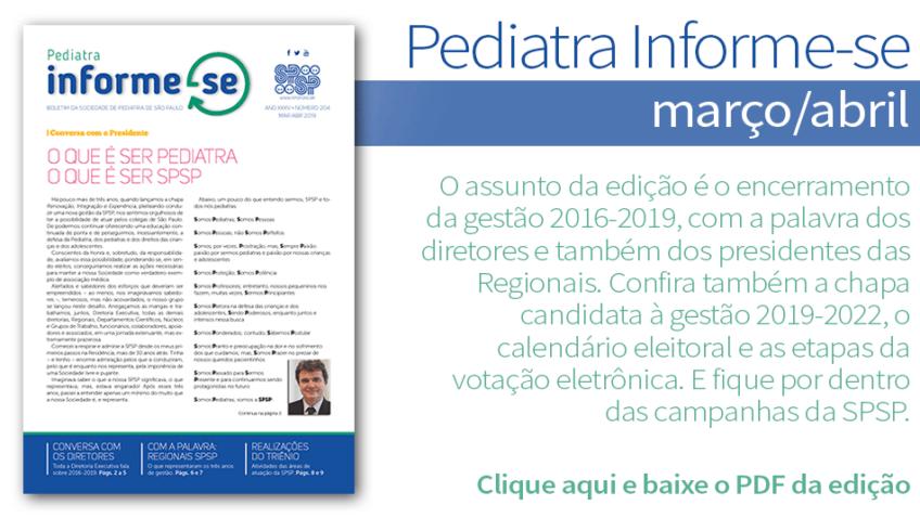 Boletim Pediatra Informe-se – Edição março/abril nº 204