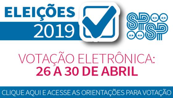 ELEIÇÕES SPSP 2019: ORIENTAÇÕES PARA VOTAÇÃO