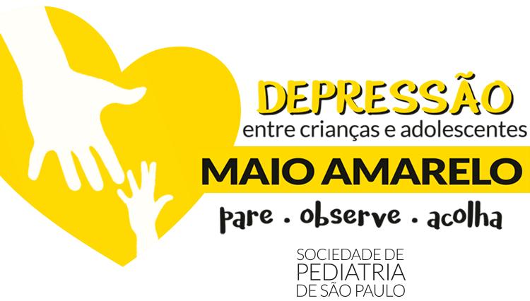 Campanha Maio Amarelo: Depressão entre crianças e adolescentes: Pare – Observe – Acolha