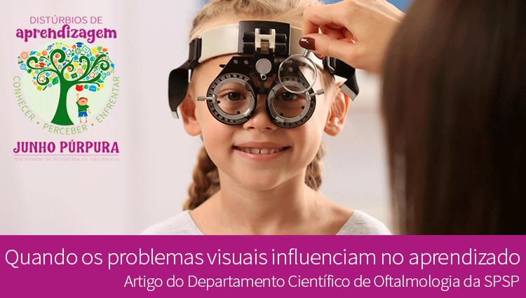 Quando os problemas visuais influenciam no aprendizado