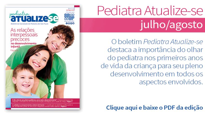 Pediatra Atualize-se aborda o desenvolvimento infantil