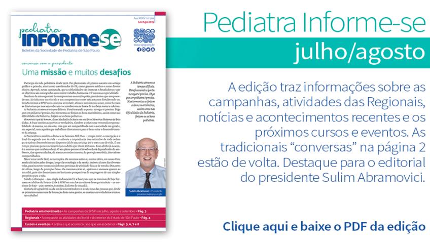Boletim Pediatra Informe-se julho/agosto – nº 206