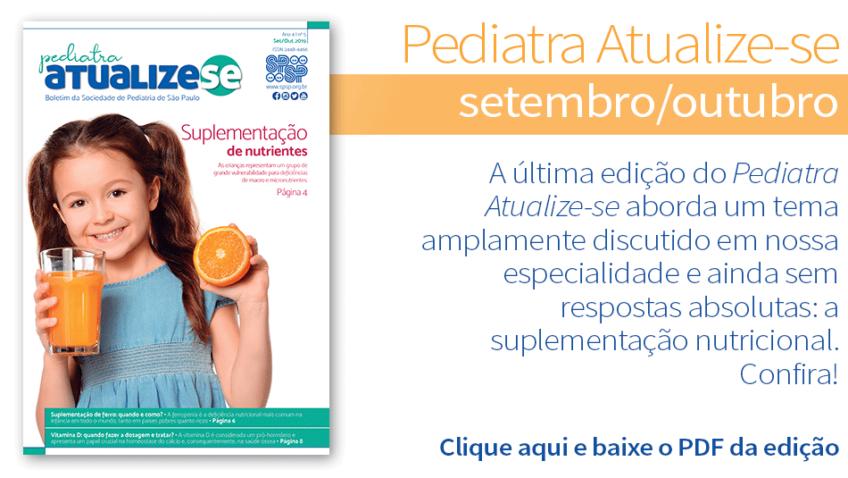 Pediatra Atualize-se trata da suplementação nutricional