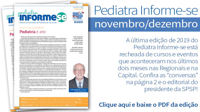 Boletim Pediatra Informe-se novembro/dezembro – nº 208