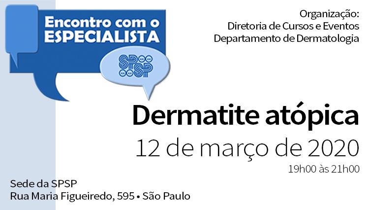 Encontro com o Especialista – Dermatite Atópica