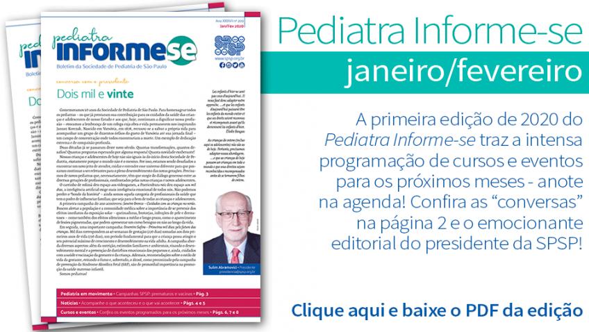 Boletim Pediatra Informe-se Janeiro/Fevereiro – Nº 209