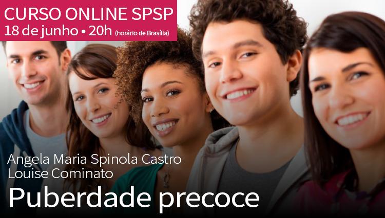 Curso Online SPSP: Puberdade Precoce – 18/06/2020