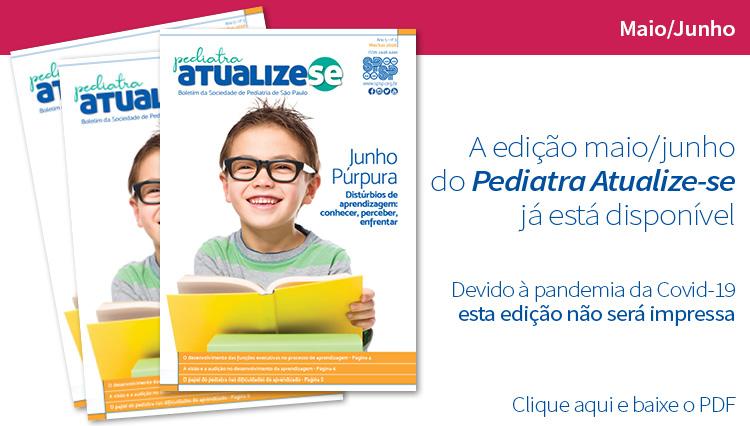 Boletim Pediatra Atualize-se e os distúrbios de aprendizagem