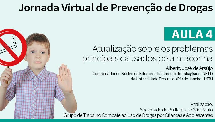 Jornada Virtual de Prevenção de Drogas – Aula 4: Problemas causados pela maconha