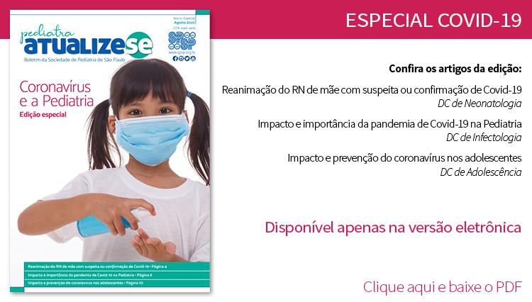 Pediatra Atualize-se Especial: coronavírus e a Pediatria