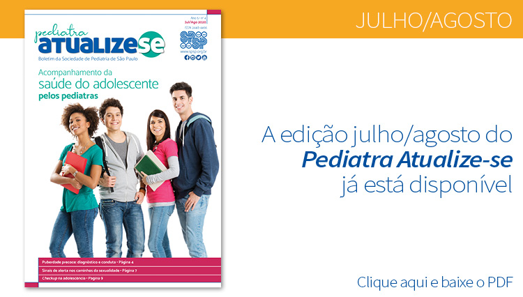 Pediatra Atualize-se e a saúde dos adolescentes