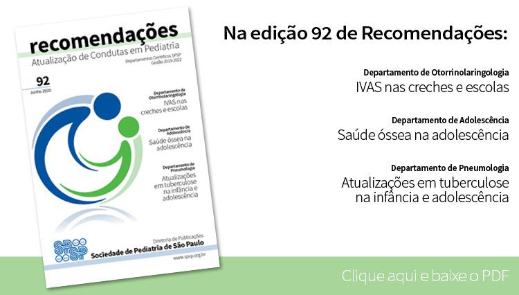 Fascículo Recomendações 92 – junho 2020