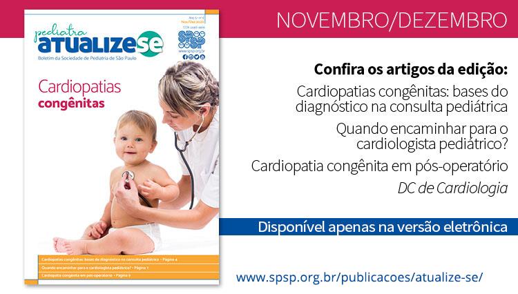 Pediatra Atualize-se e a Cardiologia em Pediatria