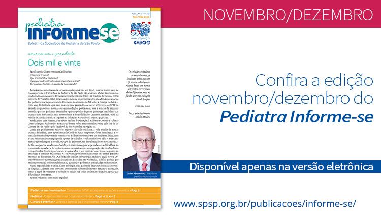 Boletim Pediatra Informe-se novembro/dezembro – nº 214