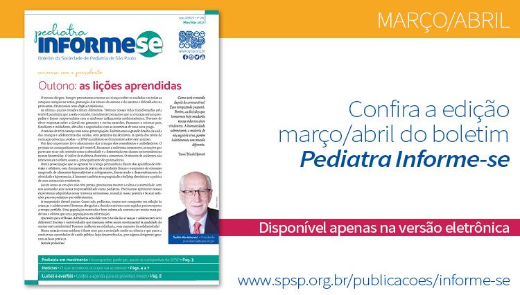 Boletim Pediatra Informe-se março/abril – nº 216