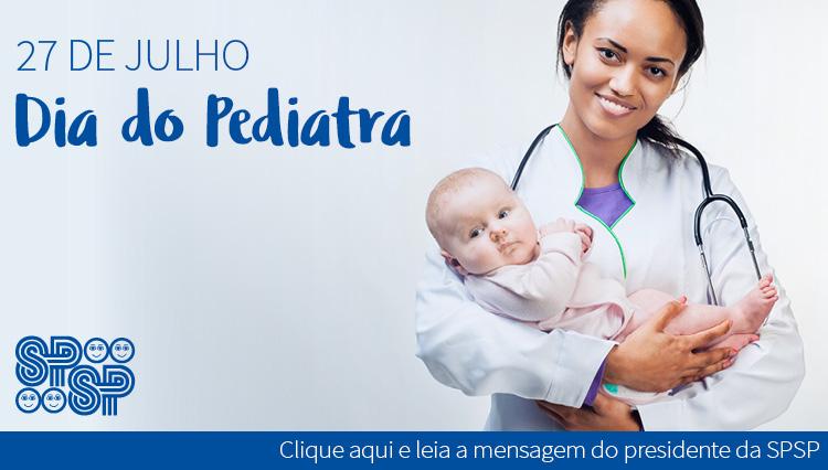27 de julho, DIA DO PEDIATRA