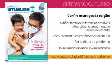 Pediatra Atualize-se: o pediatra na pandemia