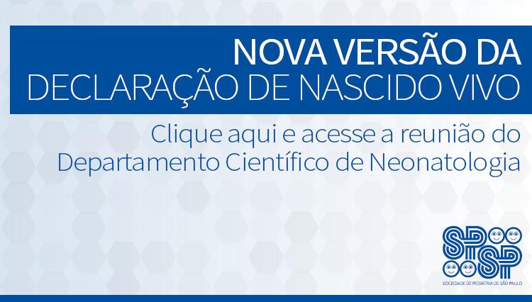 Apresentação da nova versão da Declaração de Nascido Vivo (DNV)