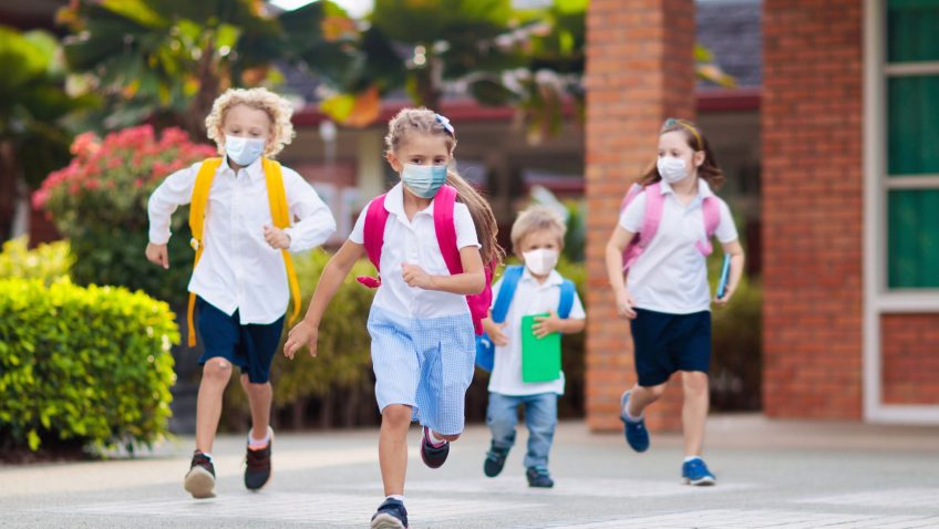 Sobre segurança e saúde nas escolas